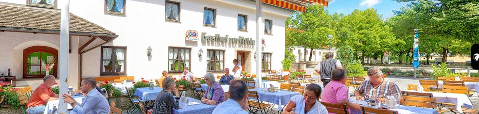 Beergarden Hotel Gasthof Zur Muhle Ismaning