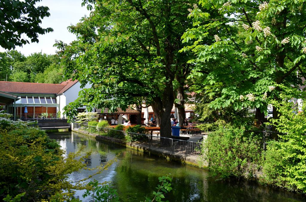 Biergarten Hotel Gasthof Zur M 252 Hle Ismaning